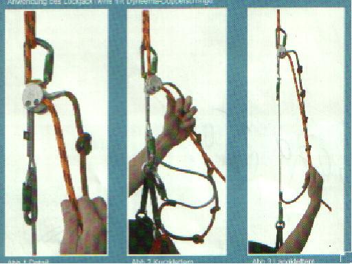 Lock -Jack mászótechnika